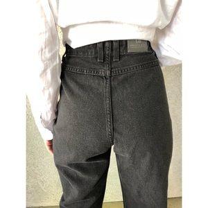 VINTAGE Lee super high waisted bareback mom jeans